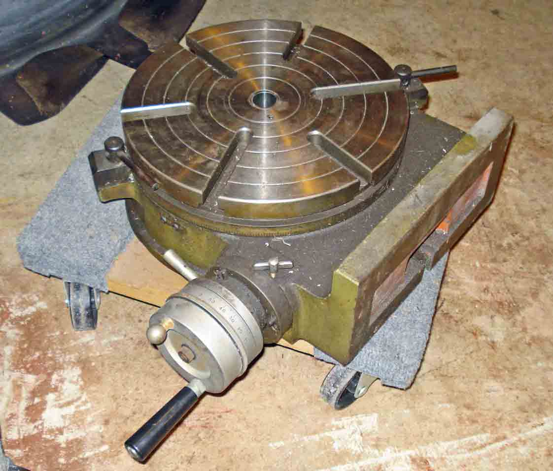 Rotary table lifting for 12 rotary table