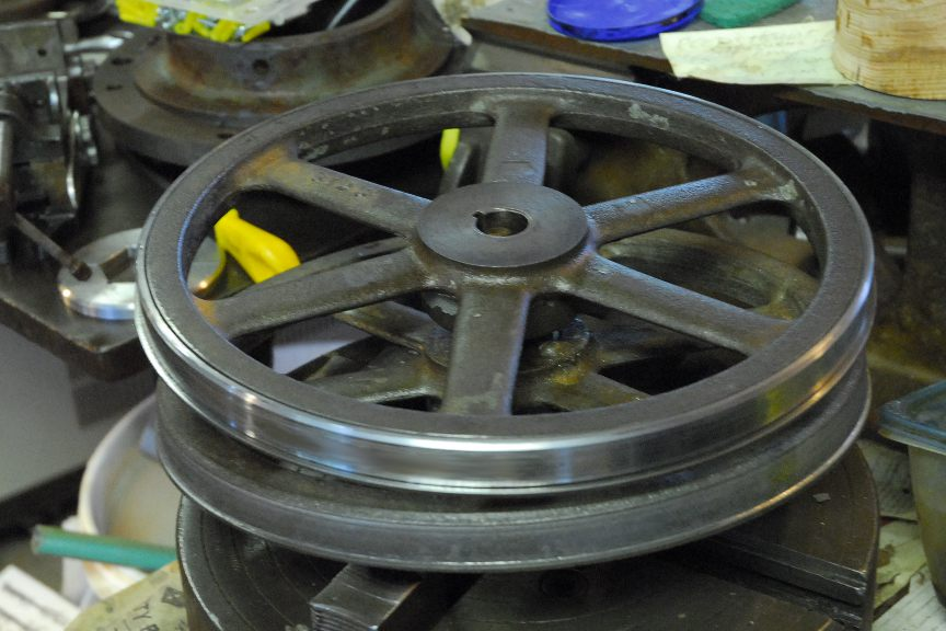 Bandsaw Mill For Sale >> Material for Replacement Bandsaw Wheels