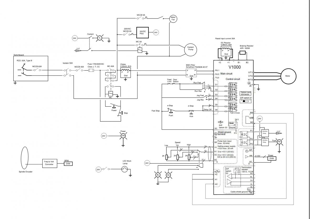Ac Drive Wiring New Media Of Diagram Online Boat Panel 3 Phase Get Free Image About Powerflex 753
