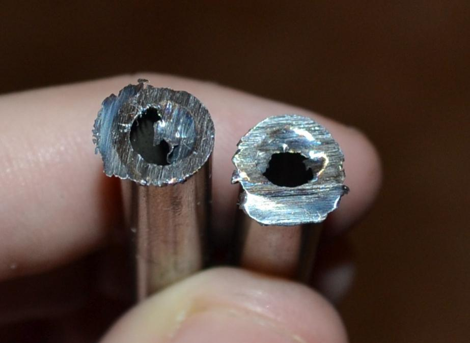 Cutting Thin Stainless Steel Tubing