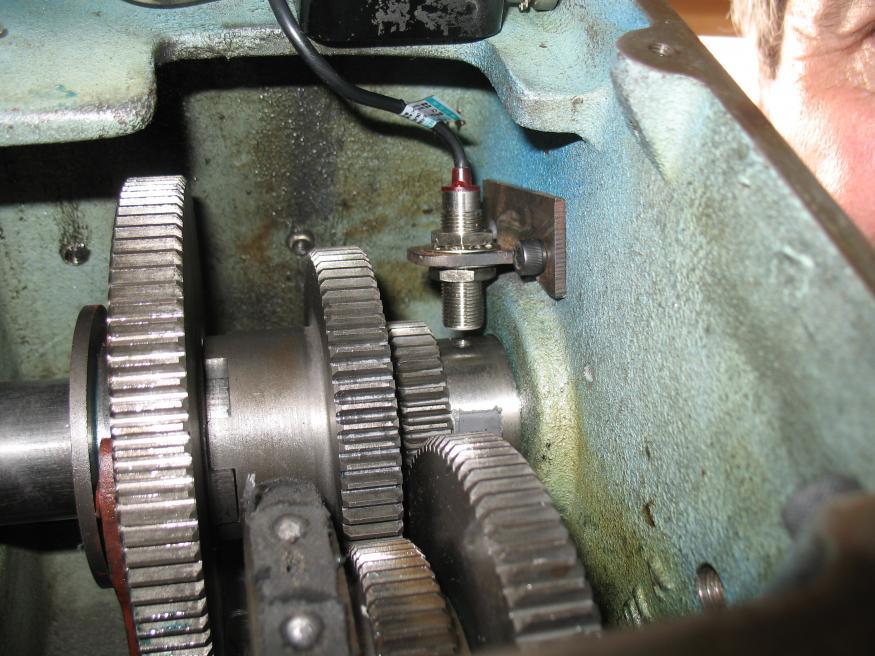 digital rpm meter for machine tools