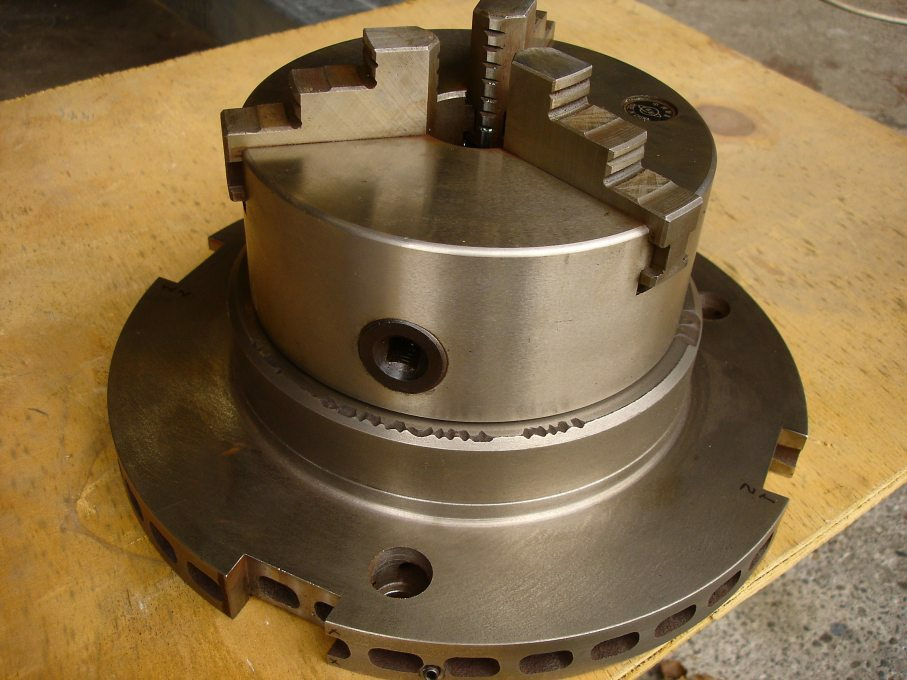 Rotary Table And Chuck