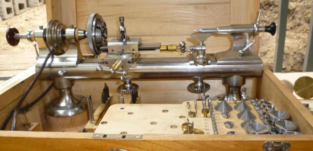 Lathe For Sale >> Lorch Watchmaker's Lathe Identification
