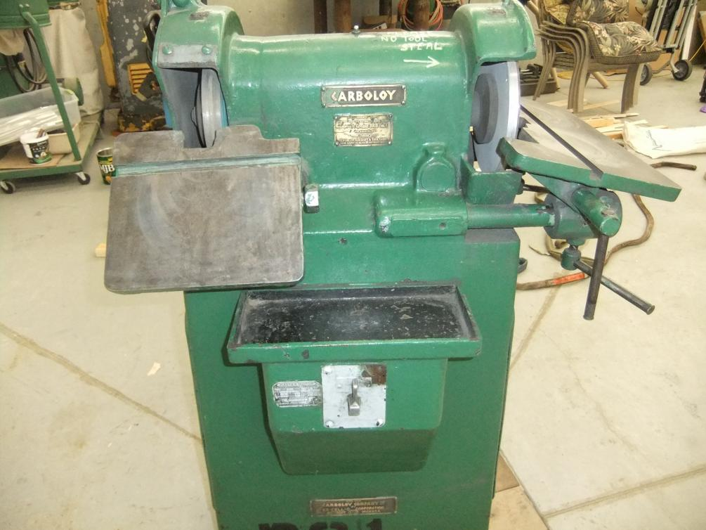Carboloy Excello Tool Grinder