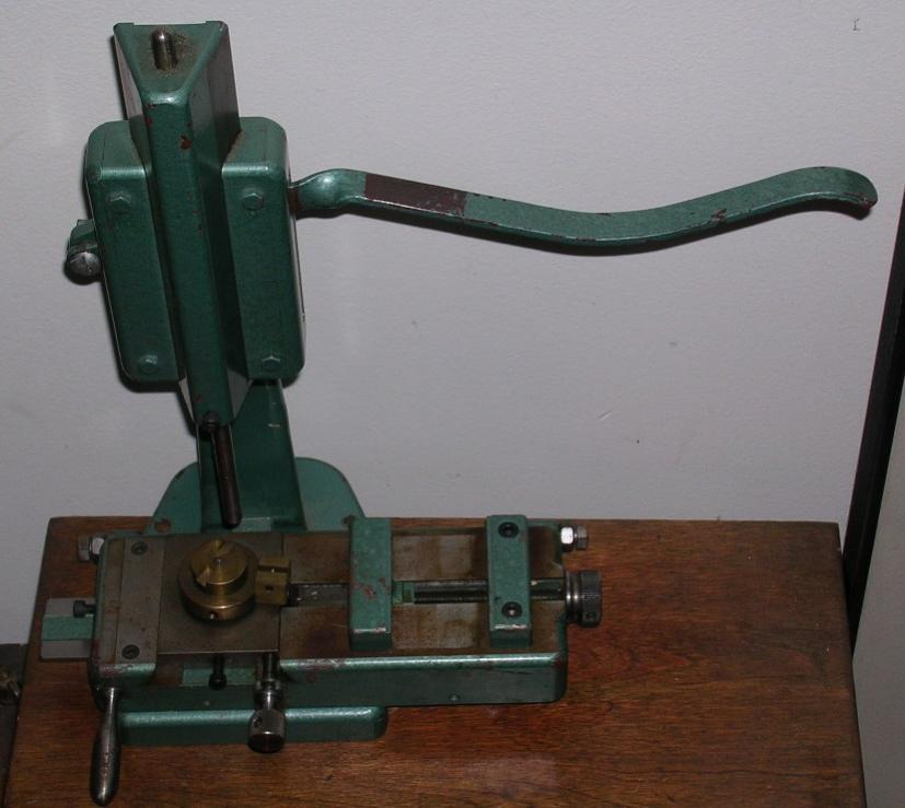 Vertical Lever Press : B please help identify this vertical lever operated press