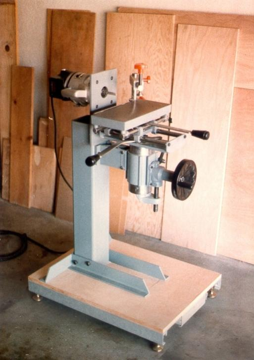 A horizontal boring machine I made