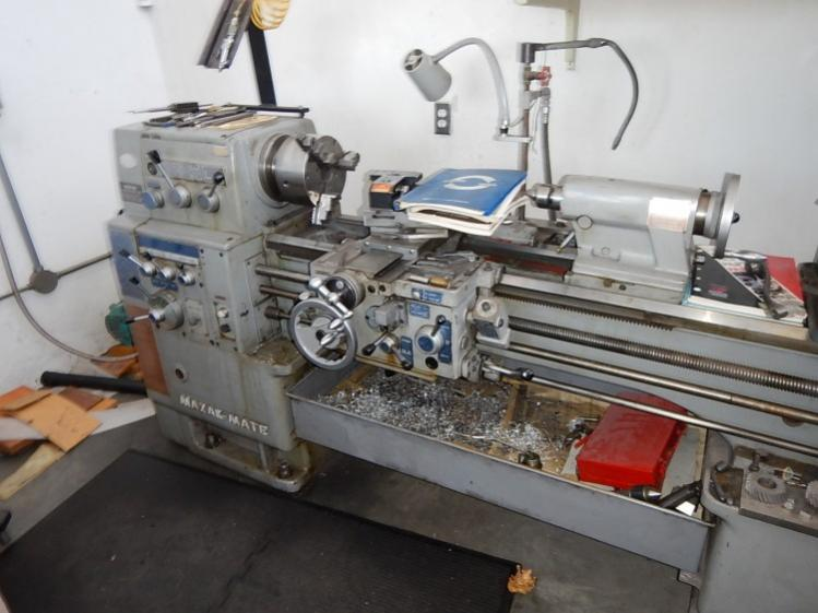 mazak mate lathe at auction can you tell what size rh practicalmachinist com