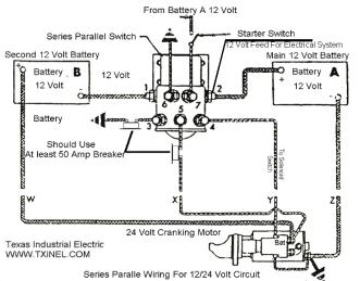 12 volt starter wiring diagram electrical diagram schematics rh zavoral genealogy com