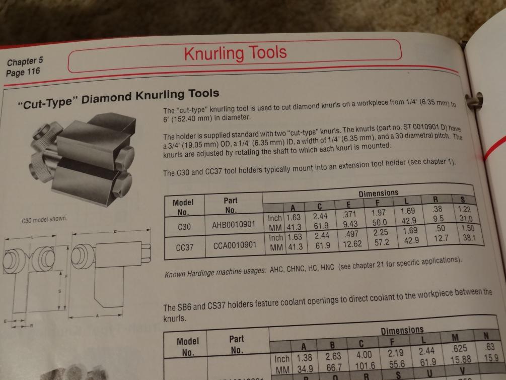 quick knurling tool instructions
