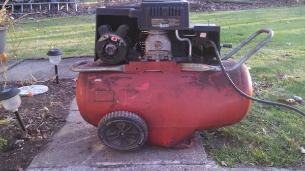 Air Compressor Tank Exploded