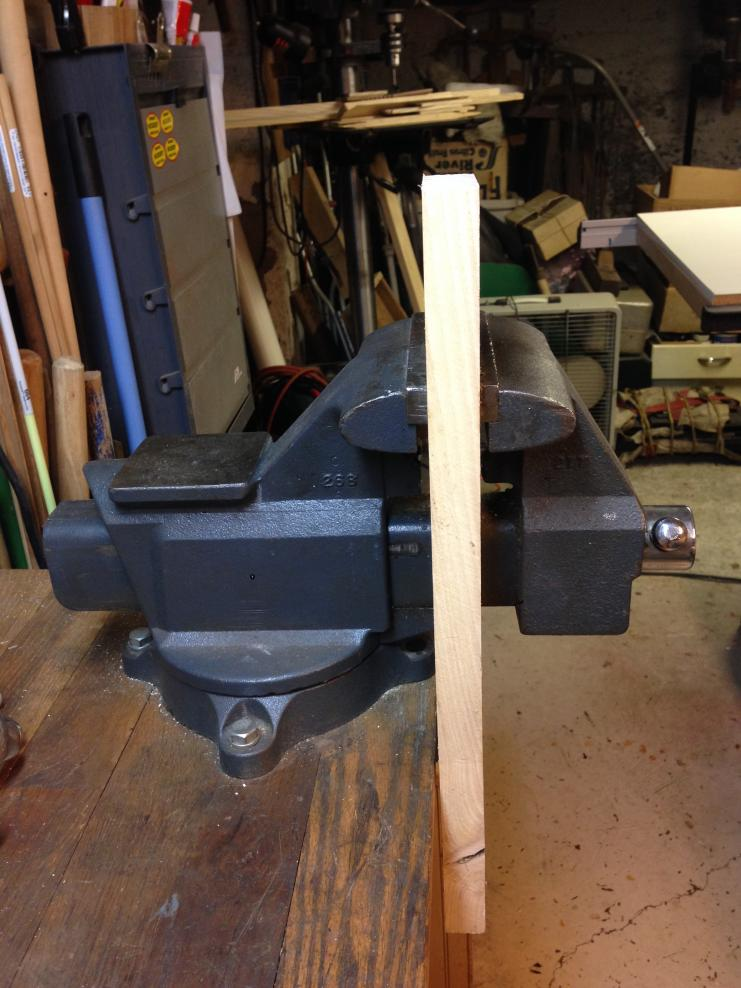Beautiful How To Install A Bench Vice Part - 10: Vise-placement1.jpg