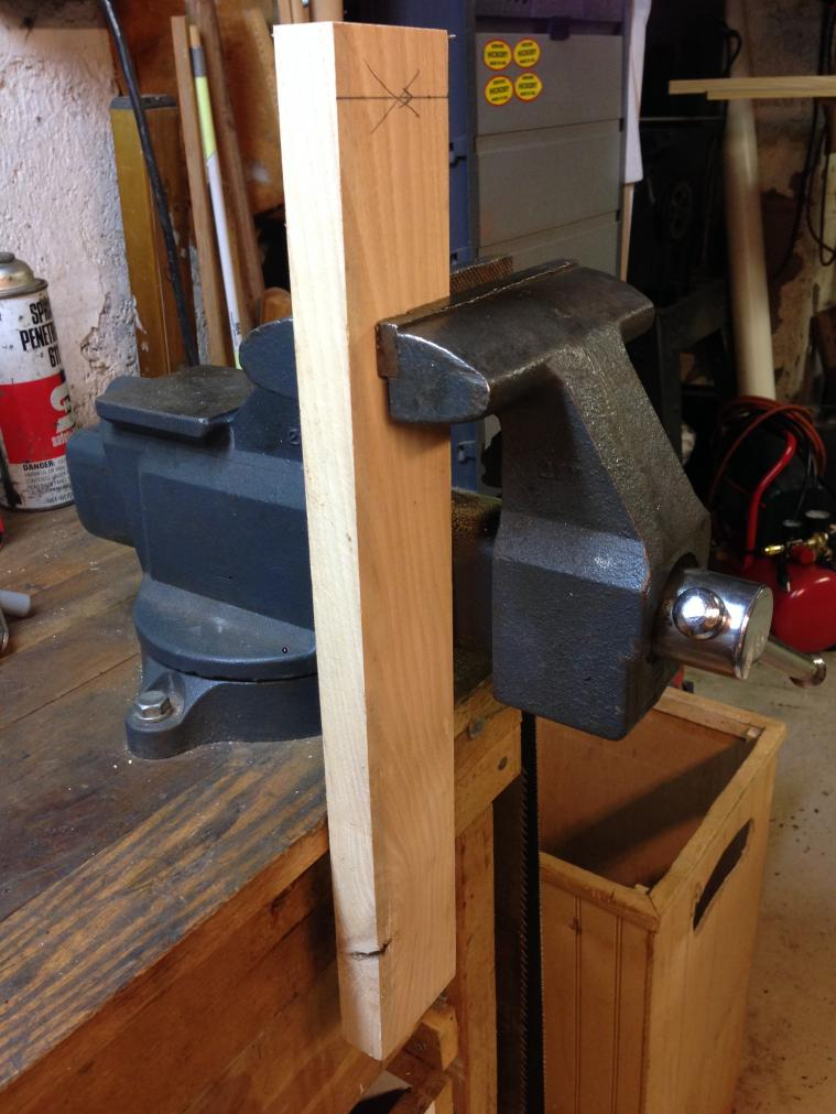 How To Install A Bench Vice Part - 33: Vise-placement2.jpg