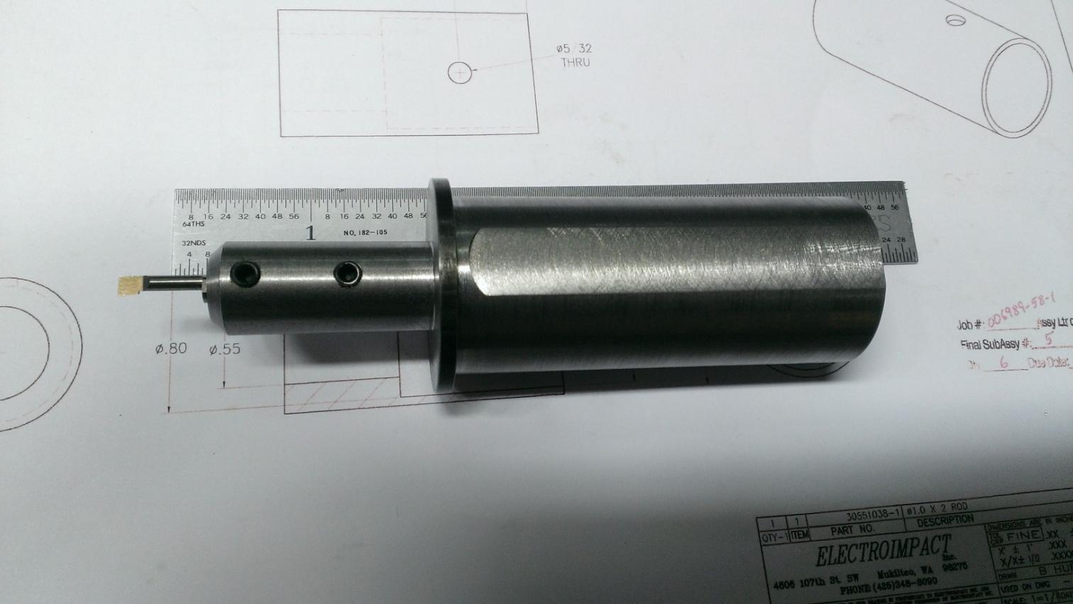 Lathe Tool Diameter Reducer Sleeve