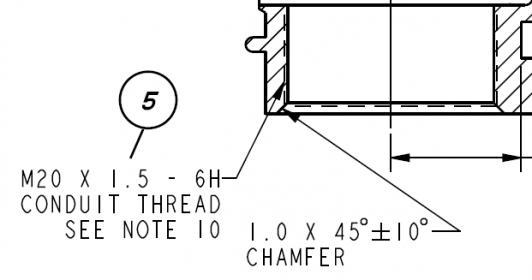 metric conduit threads