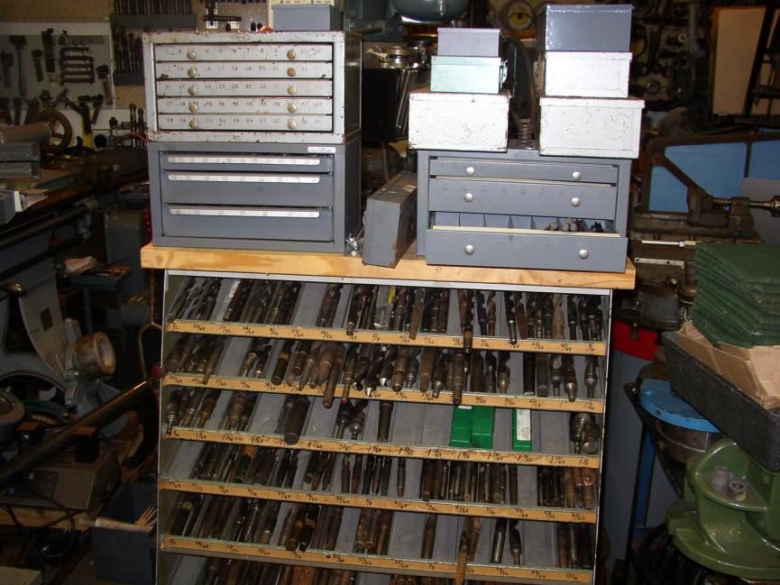 Storage Solution For Large Drill Bits And Reamers