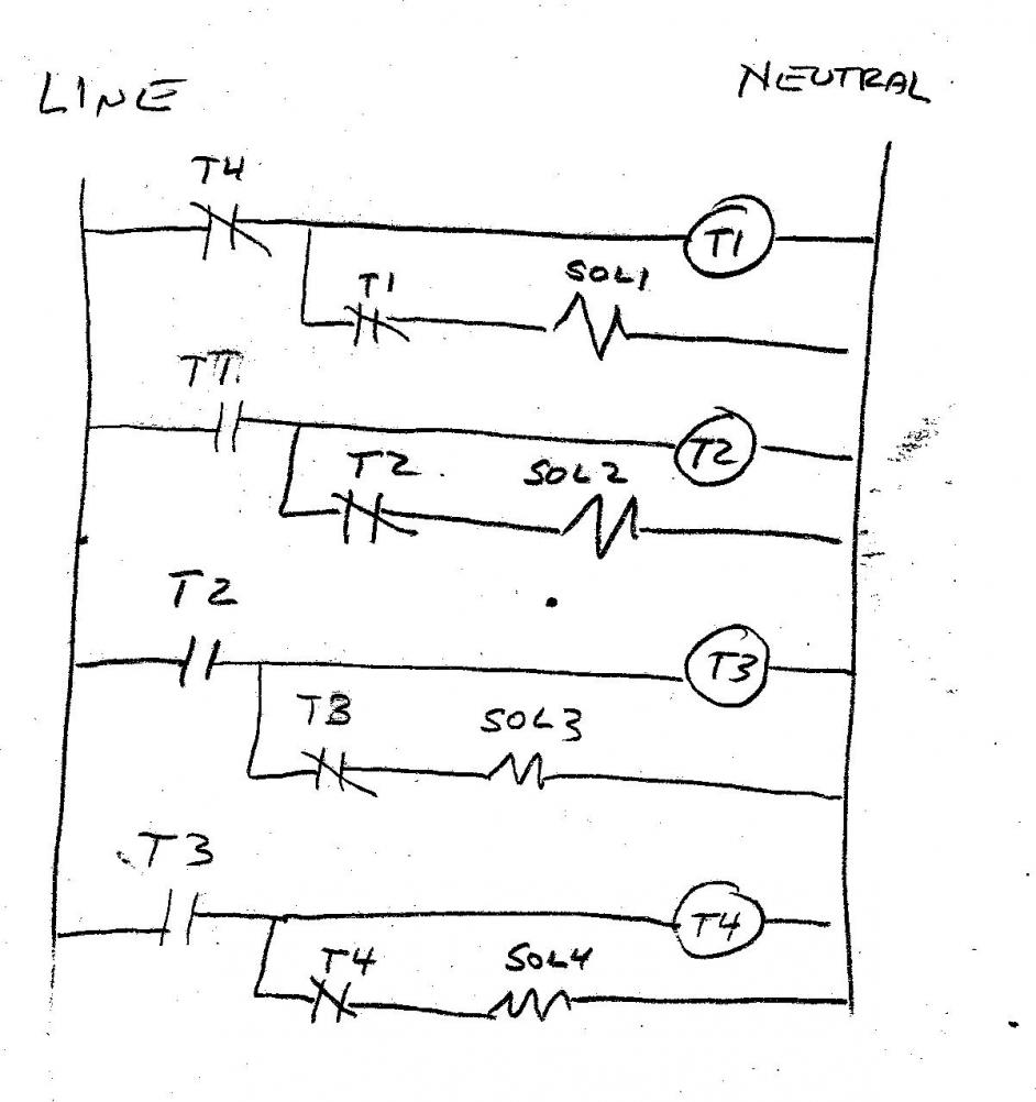 4 pole sequencer wiring diagram 4 pole plug wiring diagram