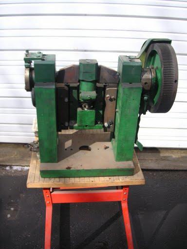 Bench Mounted Sheet Metal Hole Punch
