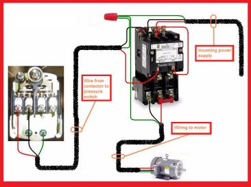 166180d1458269621 need some help wireing motor starter single phase motor contactor wiring diagrams need some help on wireing a motor starter air compressor motor starter wiring diagram at webbmarketing.co