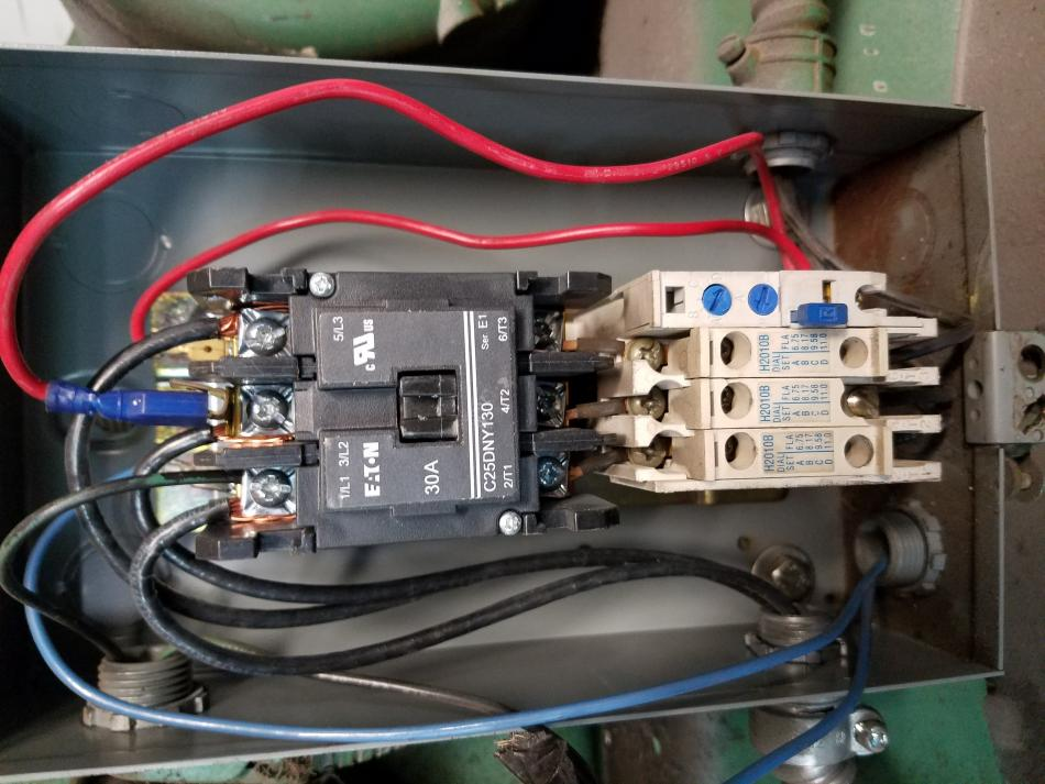 compressor contactor wiring wiring diagram site Air Conditioning Contactor Relay