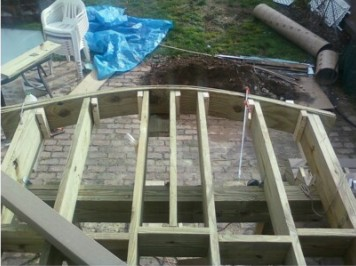 Ot Need To Make A Curved Deck Rim Joist