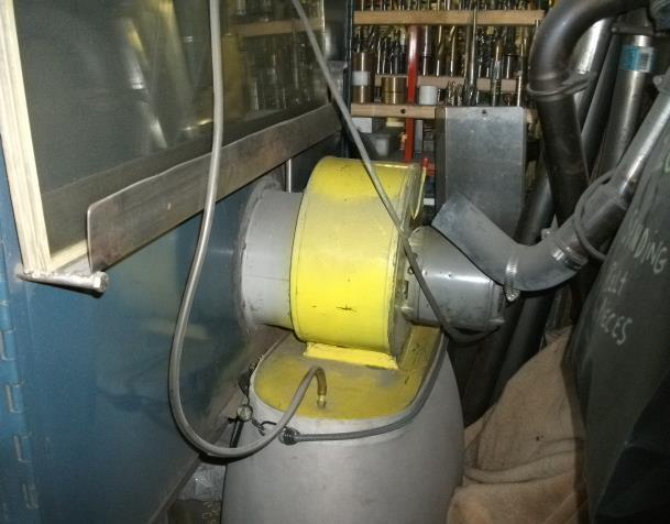 Blast Cabinet Vacuum Requirements