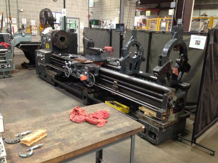 value of large mazak engine lathe rh practicalmachinist com Mazak Programming Mazak Vtc-41M
