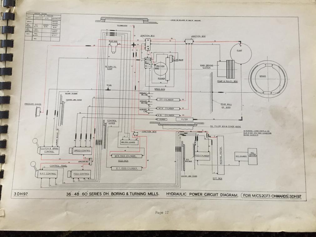 D Webster Bennett Vertical Boring Mill Issues Img