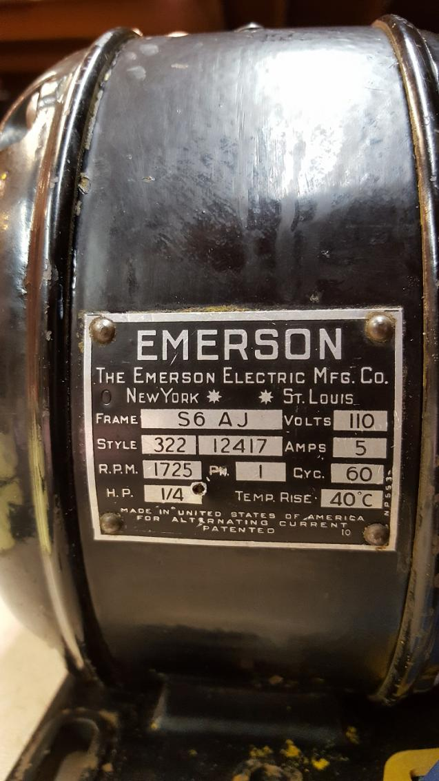 Vintage emerson split phase 1 4 hp motor troubleshooting for 1 4 hp ac motor