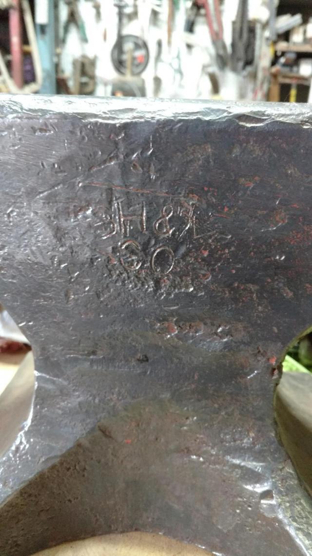 peter wright anvil markings