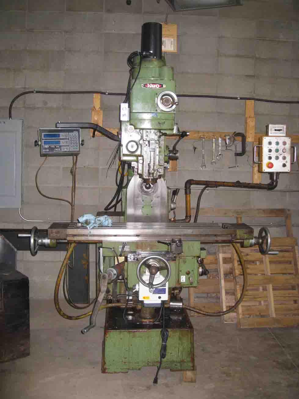 Horizontal Milling Machine >> Help for KF turret milling machine