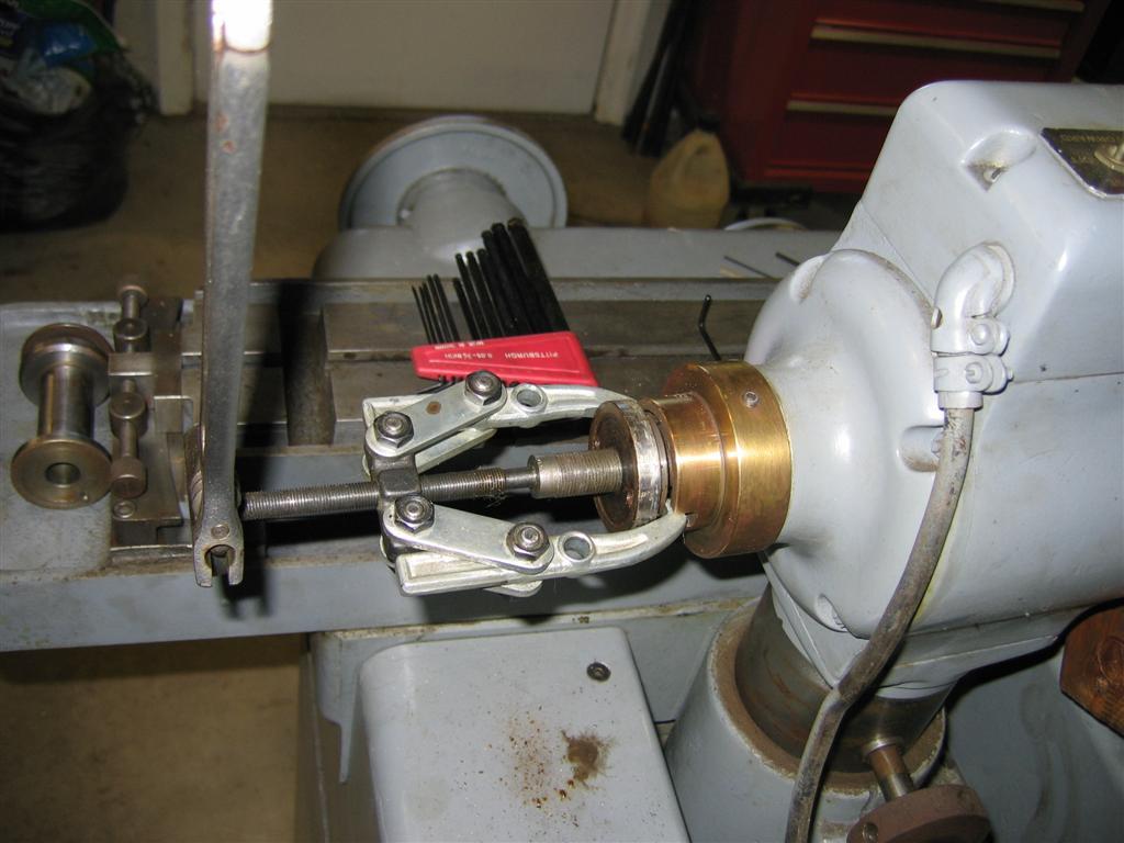 Big Gear Pullers : Press fits using heat