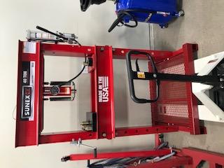 Modifying a perfectly good Hydraulic press