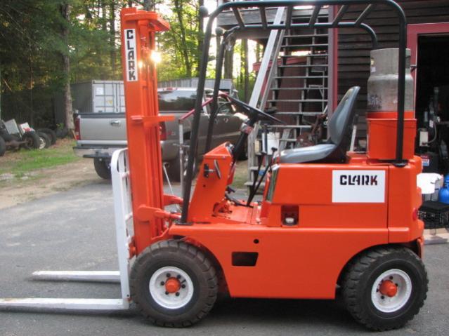Need Help Identifying Older Clark Forklift!