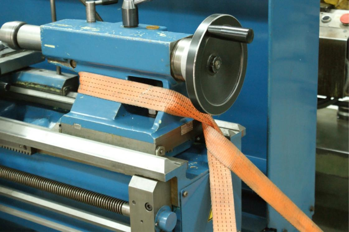 Looking For Photos Of Properly Strapped Down Engine Lathes