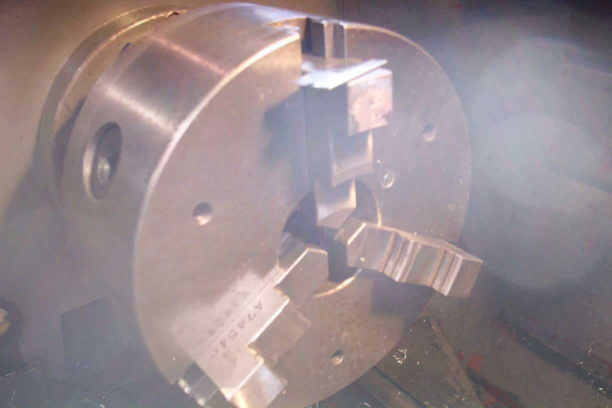 Disc Blank Turning In Lathe