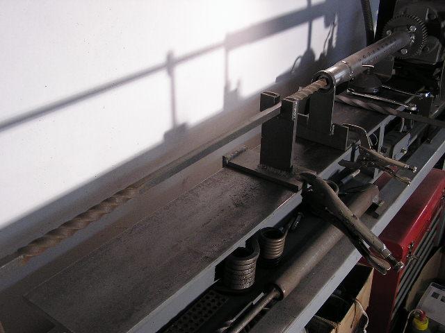 Ornamental Twisting Of Steel Strip