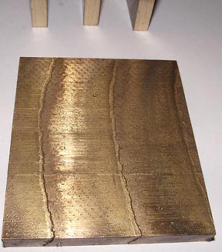 Machining 954 Aluminum bronze material