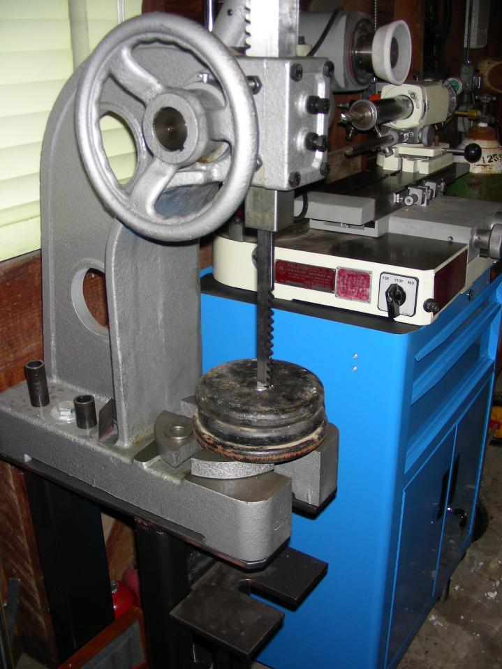 Used Milling Machine >> Arbor presses/Dumont braoches?