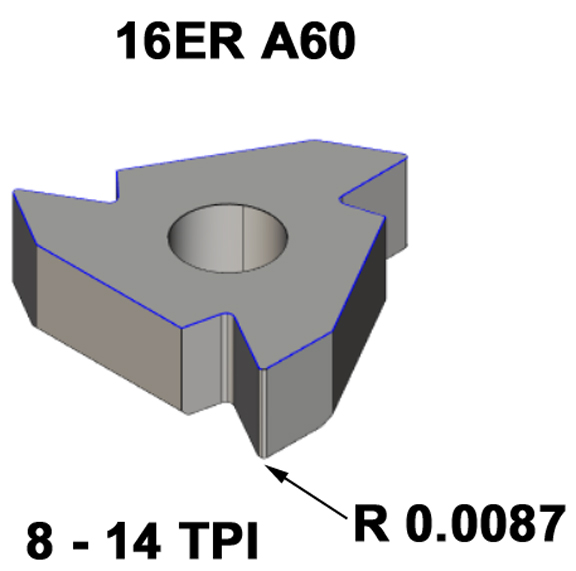 11ER A60 11ERA60 Metric Carbide Inserts for Lathe Turning Tool Insert Blade