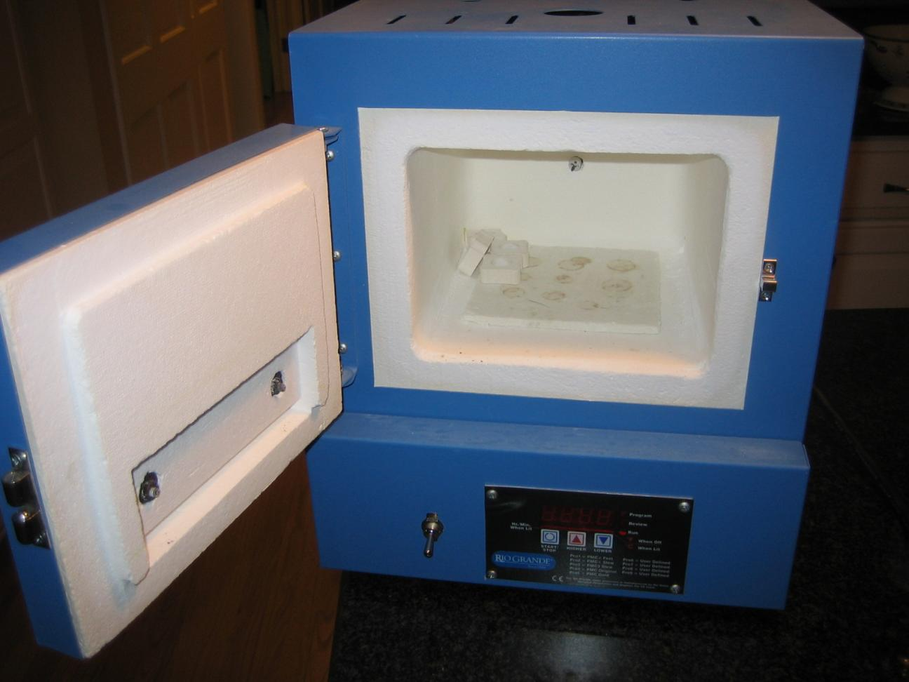 Heat Treating Oven : Homemade electric kiln furnace ftempo