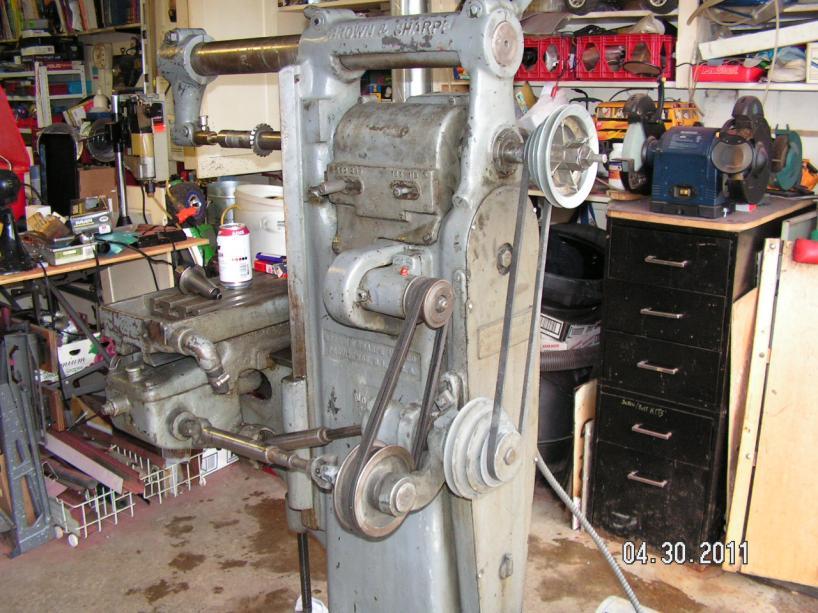 Brown Amp Sharpe No 0y Horizontal Mill Info Help Needed