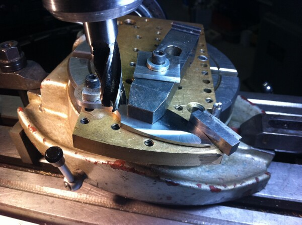 Fixturing On A Rotary Table