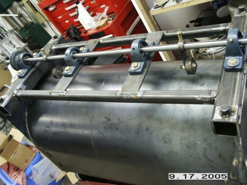 how to build vibratory tumbler