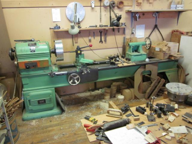 oliver wood lathe