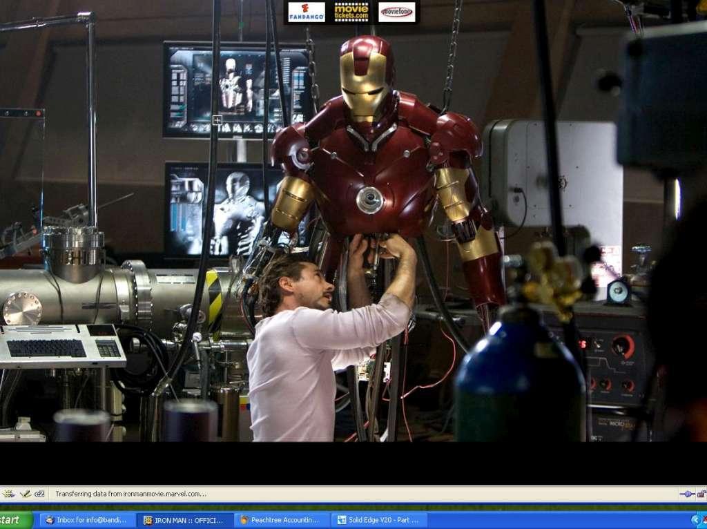 Kid Gets Robot Suit Movie
