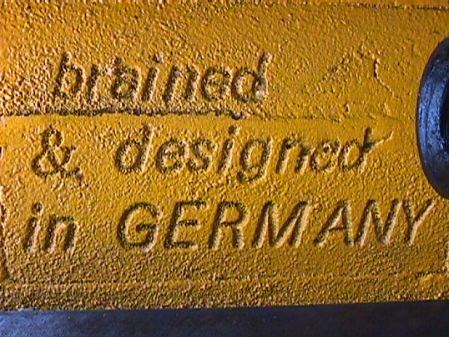 Identify This German Bench Vise