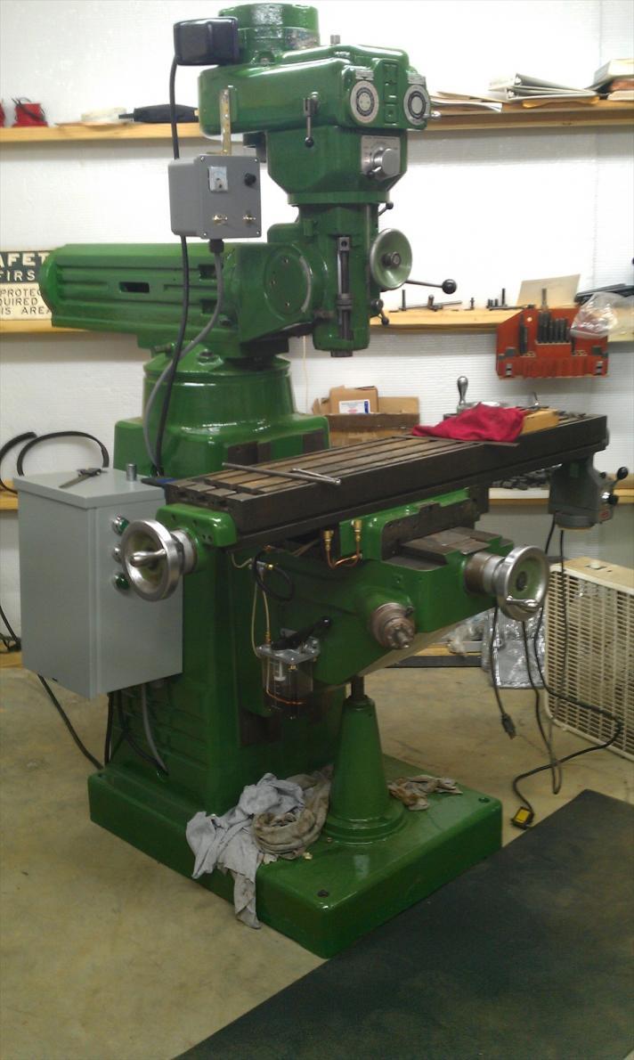 excello milling machine