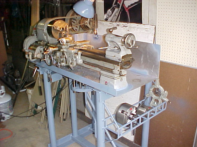 metal lathe bench plans