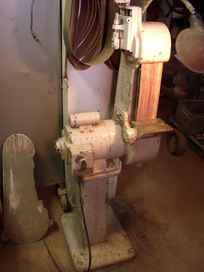 Bench grinder vs. Belt...