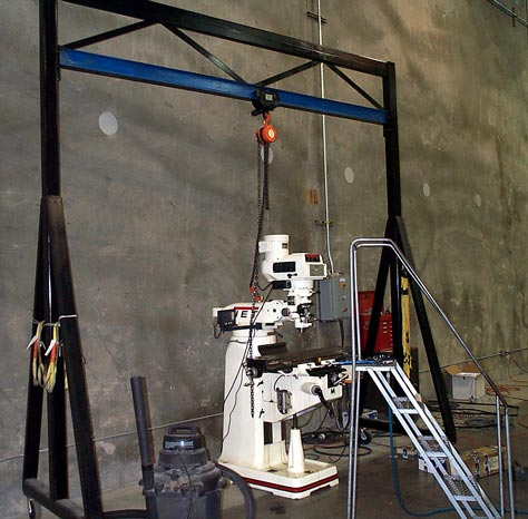 4 ton gantry crane build for Make a crane